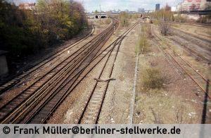 Weichen 29 und 30 von Abm 1982 . Foto Frank Müller