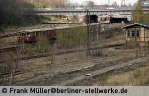 Der S-Bahn verdankt Abm ein Teil seiner Exixtenz 1982 . Foto Frank Müller