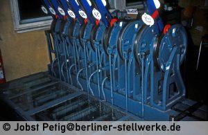 Eine Spezialität der Bauform Zimmermann & Buchloh: Verschlußwellen 3. März 1990 . Foto Jobst Petig