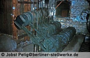 Spannwerke der Bauform Zimmermann & Buchloh 3. März 1990 . Foto Jobst Petig