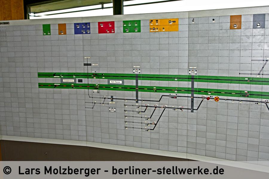Der Bereich Buckower Chaussee mit Anschlußbahn Motzener Straße. 10. Juni 2010. Foto Lars Molzberger