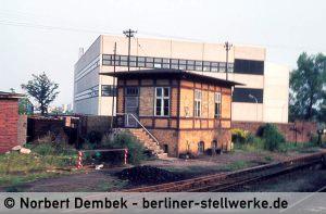 """Über dem Schild Msb ist die alte Anschift """"Sbd"""" für Südbude noch erkennbar. Ca. 1977 Foto Norbert Dembek"""